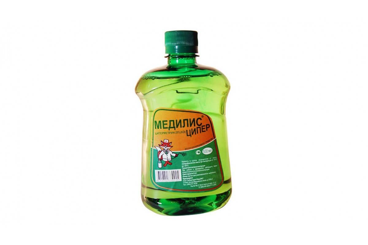 «медилис ципер» — средство от клещей, комаров и тараканов