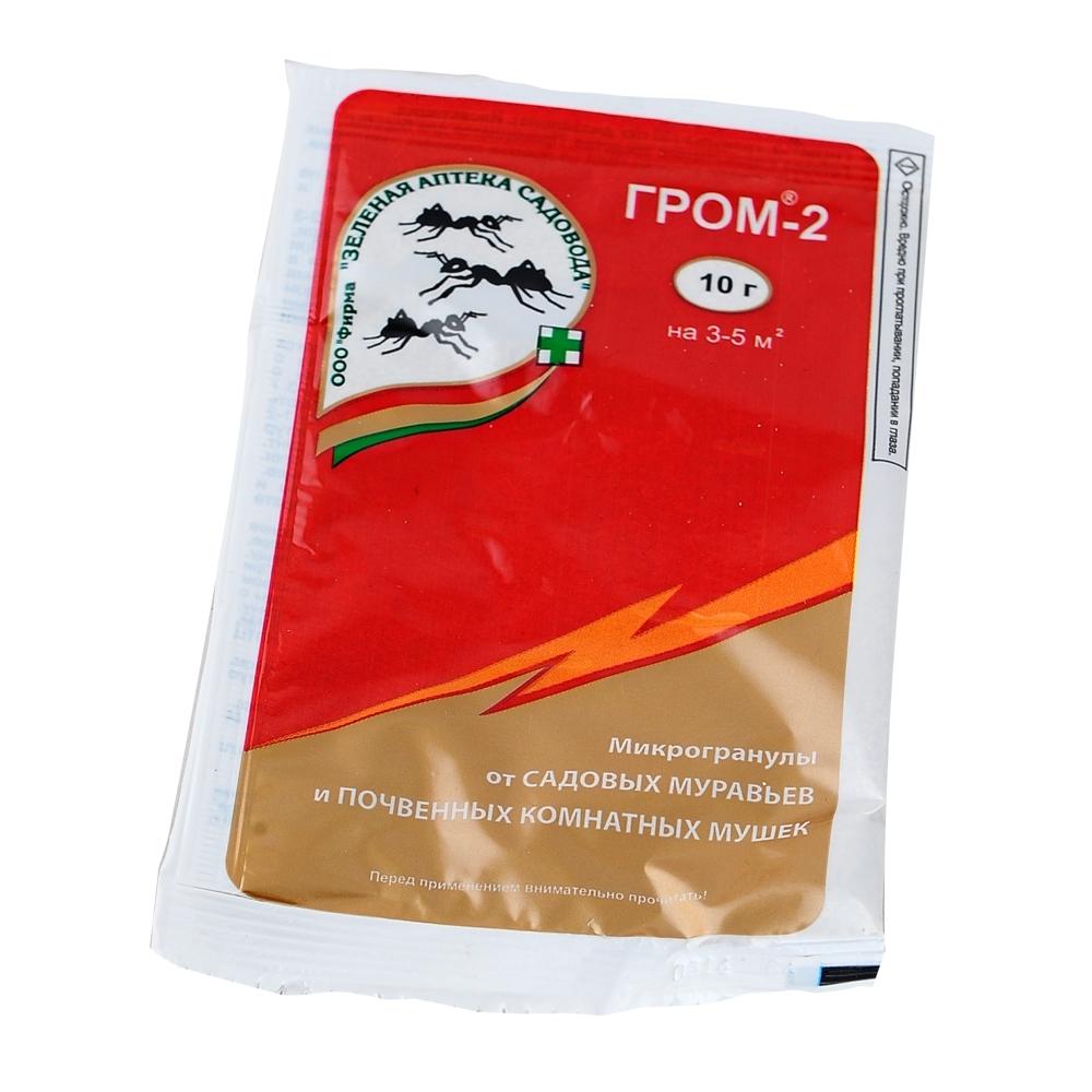 Гром-2 от муравьев: инструкция по применению и принцип действия