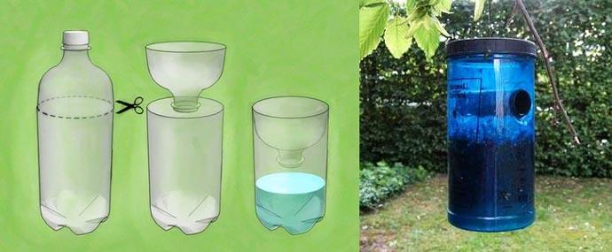 Обзор ловушек для мух – электрические, из пластиковых бутылок и прочие