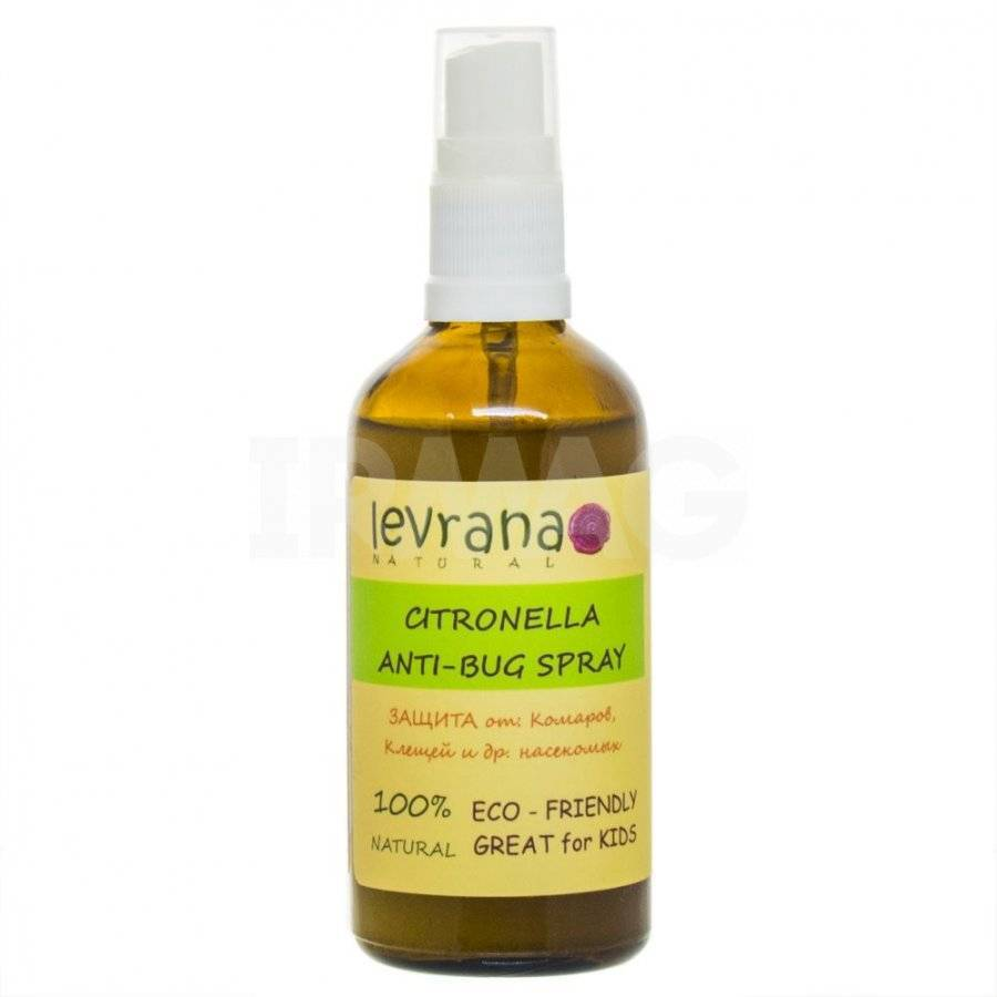 Эфирное масло цитронеллы — средство от комаров