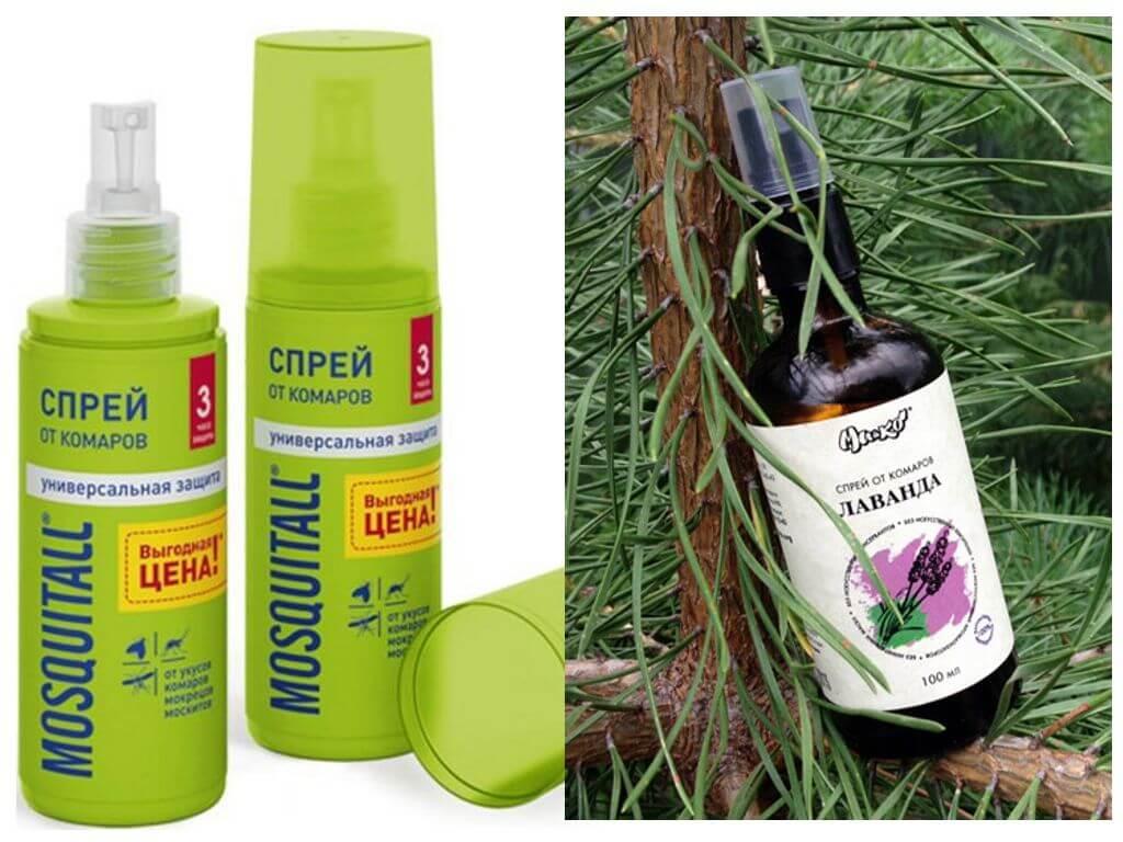 Спреи от комаров : названия и способы применения | компетентно о здоровье на ilive
