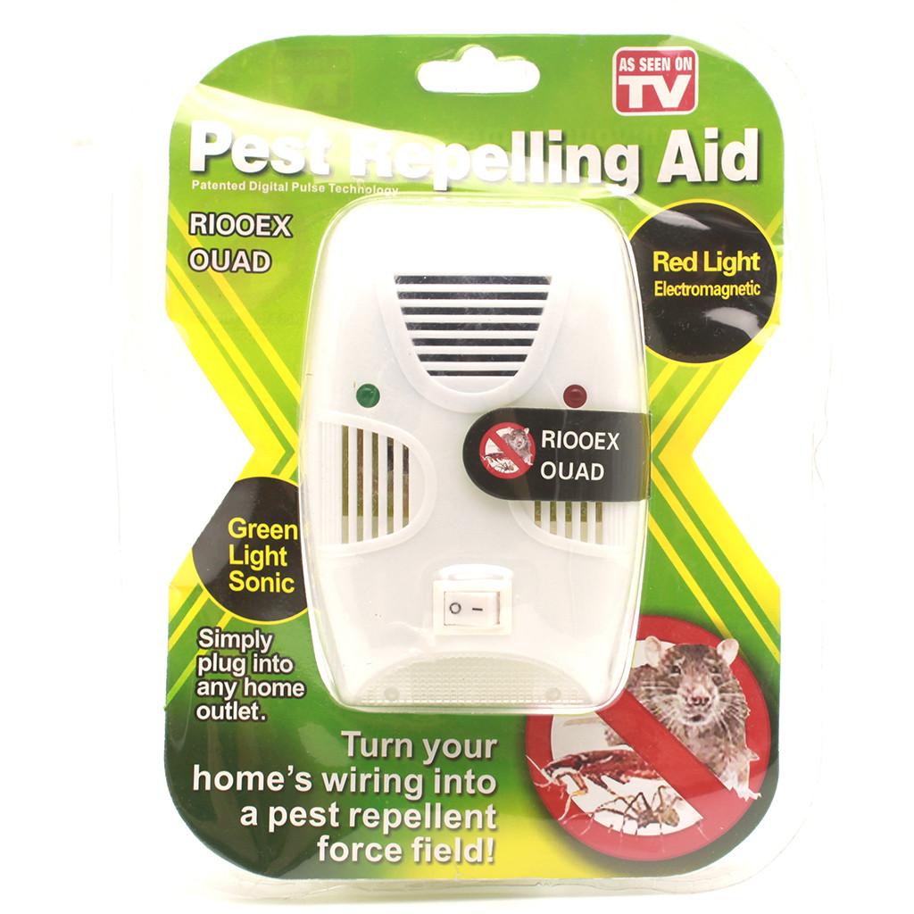 Отпугиватель тараканов, грызунов и насекомых pest repelling aid отзывы