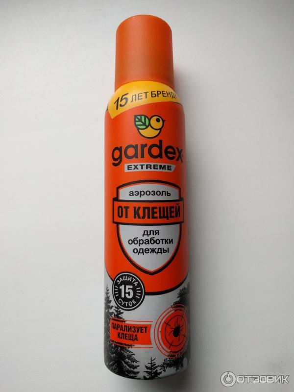 Как правильно использовать гардекс от клещей