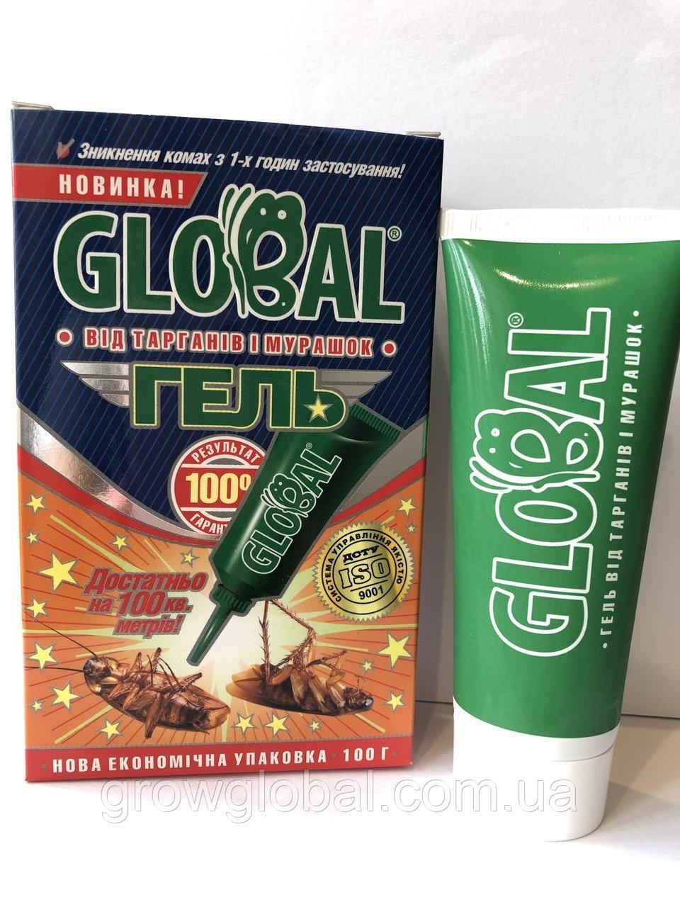 Обзор средств от тараканов глобал