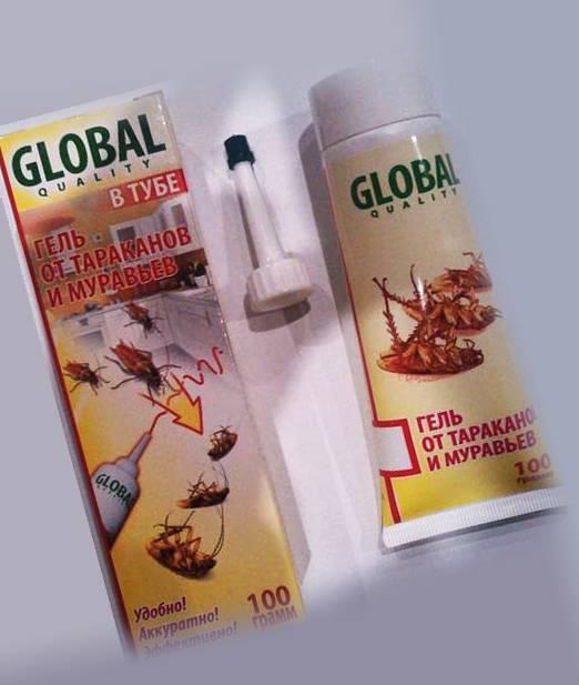 Эффективно ли средство глобал от тараканов?