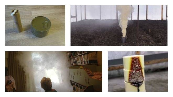 Дымовые шашки от клопов: виды, эффективность и правила использования