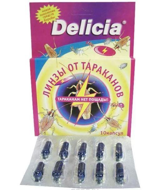 Delicia от тараканов: описание средств, инструкция по применению и отзывы