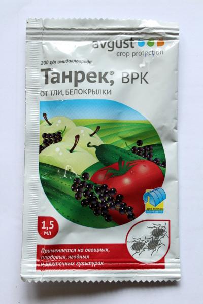 Инсектицид танрек - механизм действия и достоинства