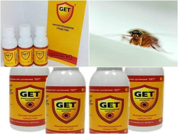 Как использовать средство от тараканов «гет»?
