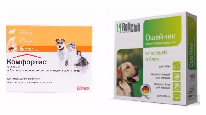 Таблетки от блох для собак и кошек: выбираем лучшие препараты