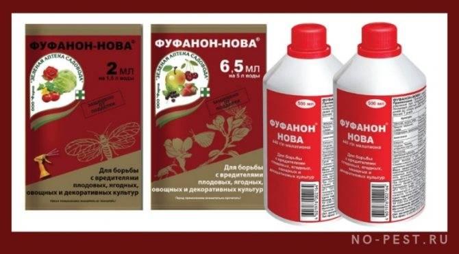 Применение фуфанона - эффективного средства от садовых вредителей и клопов, инструкция и отзывы о препарате