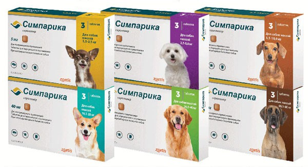 Капли на холку от блох и клещей для лечения собак