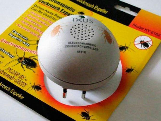 Отпугиватель тараканов: ультразвуковой или электронный?