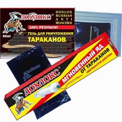 Дохлокс: гель от тараканов и инструкция по его применению