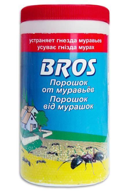 Bros от муравьев: состав средства, принцип действия, применение