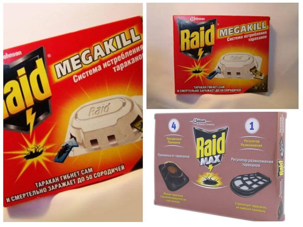 Средство «рейд»(raid) от тараканов: инструкция и отзывы