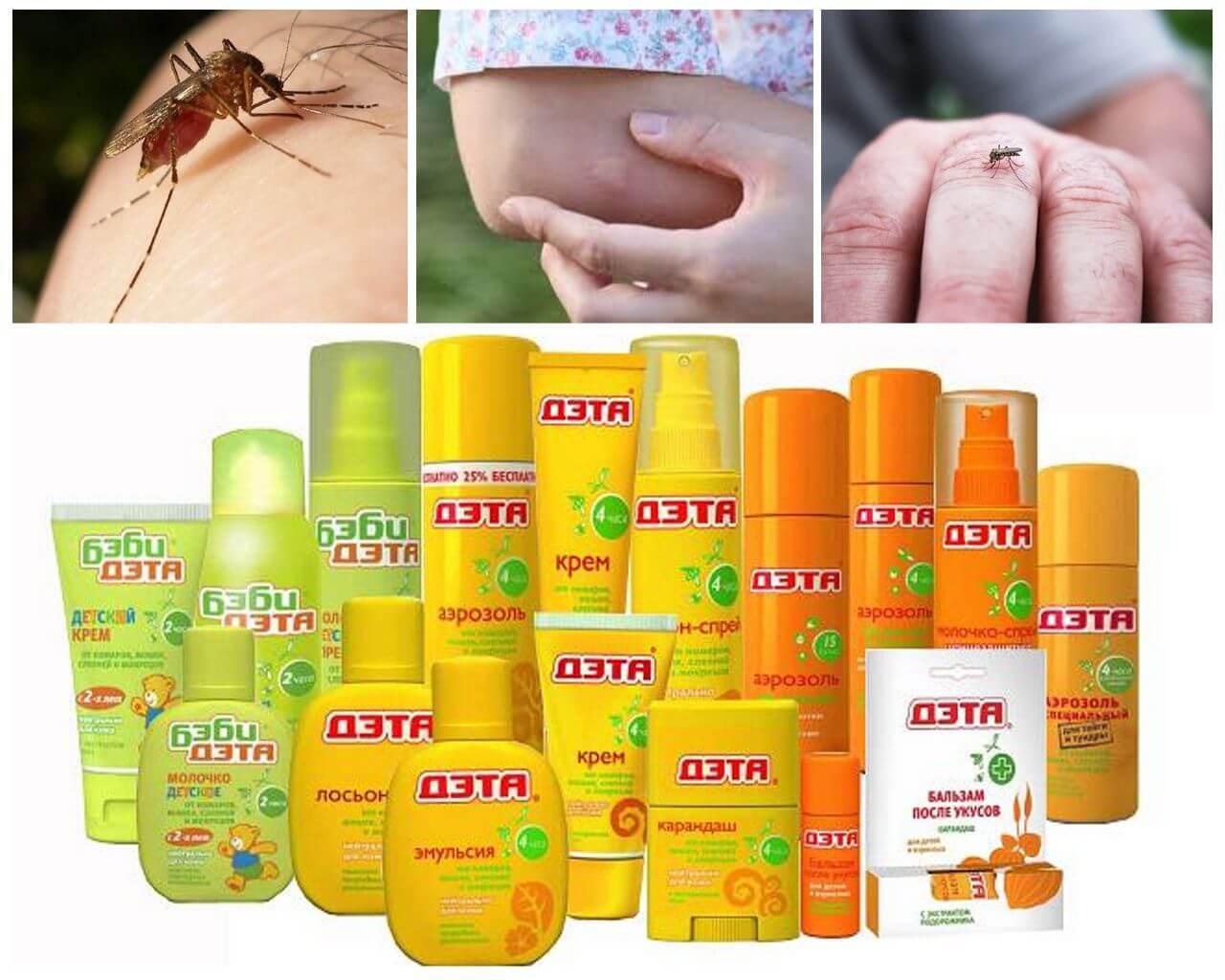 Дэта жидкость от комаров, 30 мл