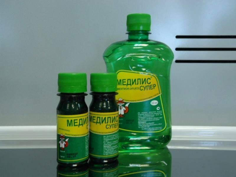 Медилис-ципер препарат от клопов — инструкция и отзывы