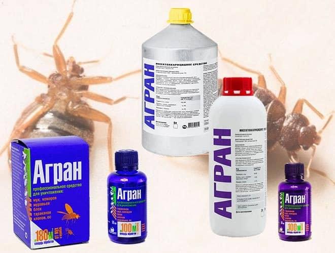 Агран от тараканов эффективен, но очень плохо пахнет