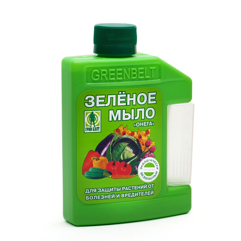 Зеленое мыло от вредителей для растений - инструкция, отзывы