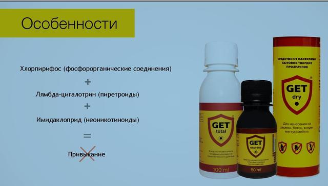 Средство от клопов гет (get): отзывы, где купить, цена на препарат