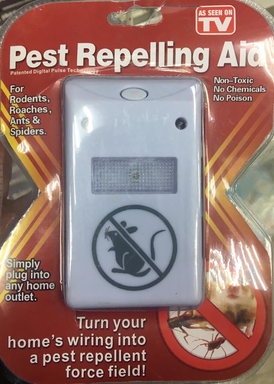 Pest repelling aid (пест репеллер аид) отпугиватель грызунов и насекомых, 1 шт