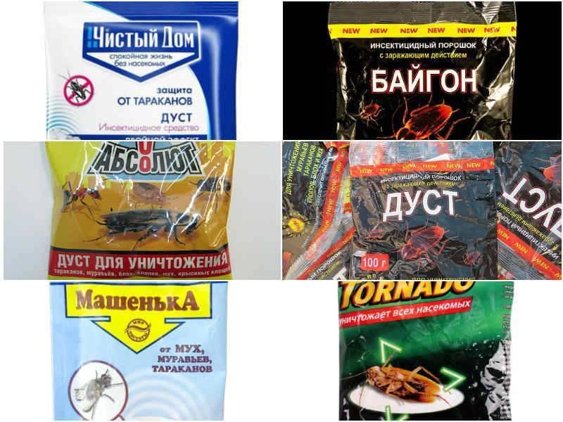 Дусты от тараканов: обзор средств и инструкция по применению