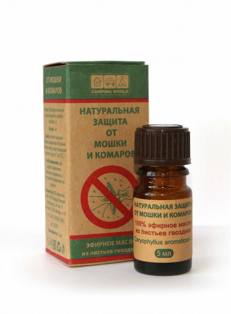 Какое эфирное масло можно применять от комаров?