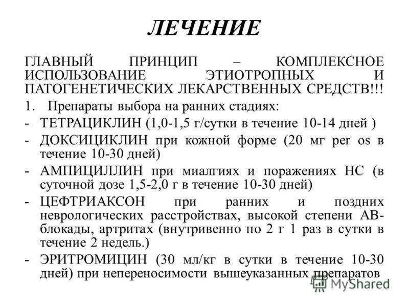 Доксициклин при укусе клеща: состав препарата, его дозировка и противопоказания.