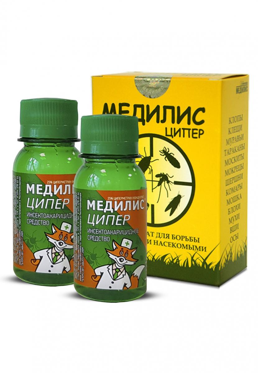 Ципер медилис инструкция от клопов комаров и клещей и отзывы