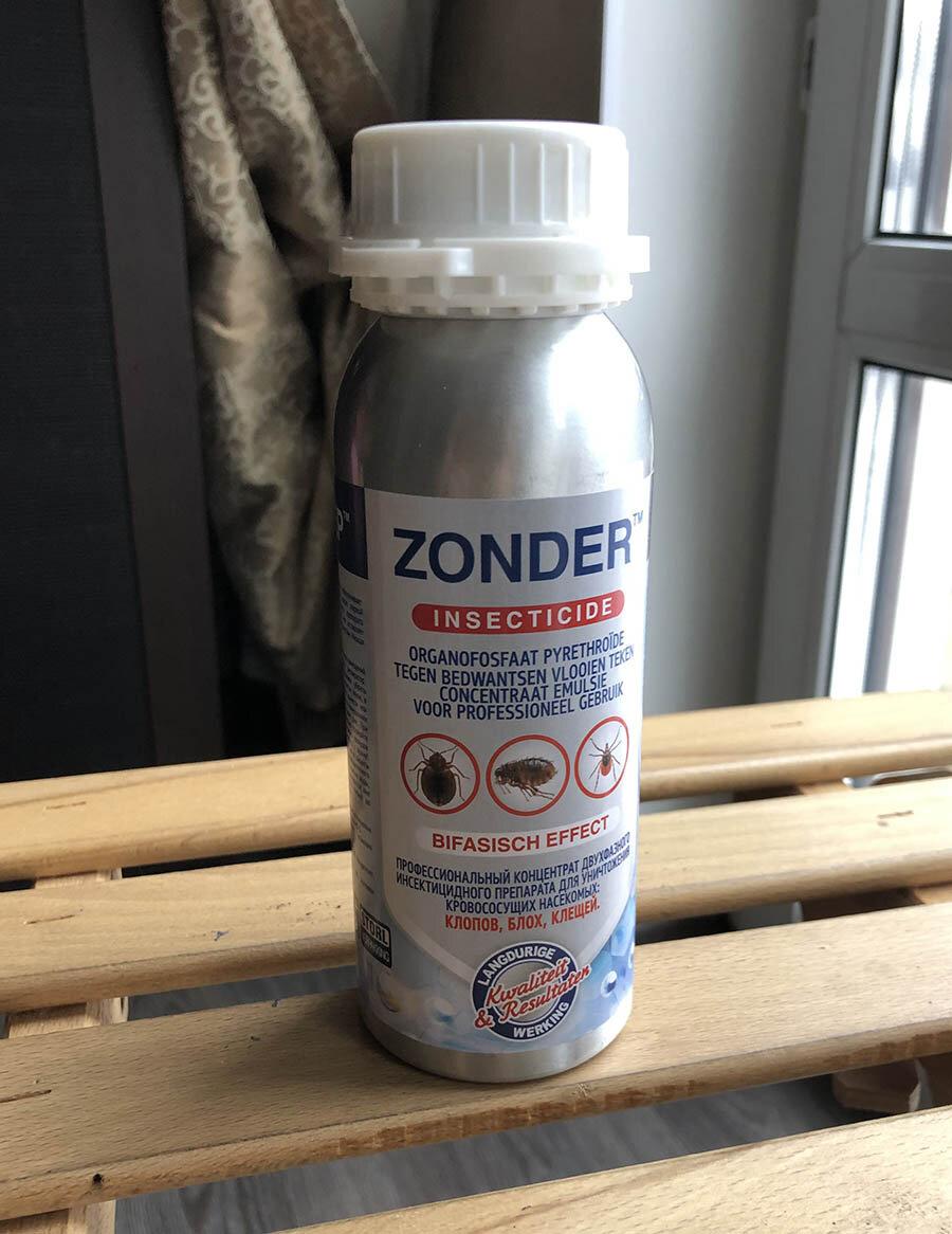 Зондер (zonder) - средство от клопов: инструкция , отзывы, где купить