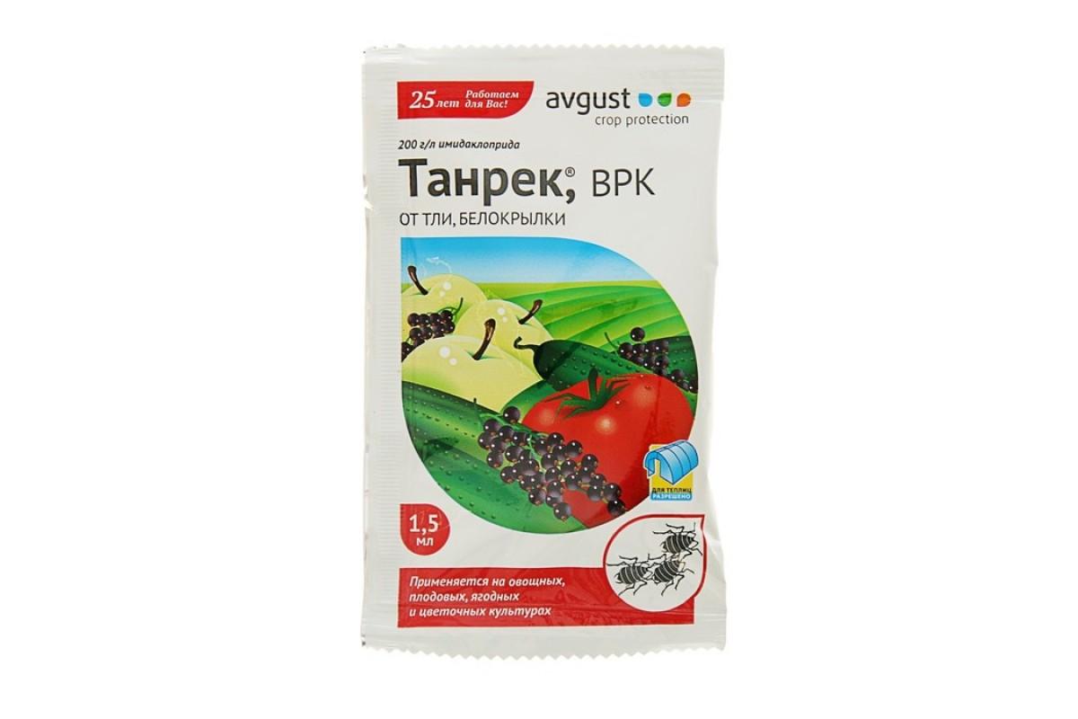 Танрек от колорадского жука – инструкция по применению, цена, отзывы