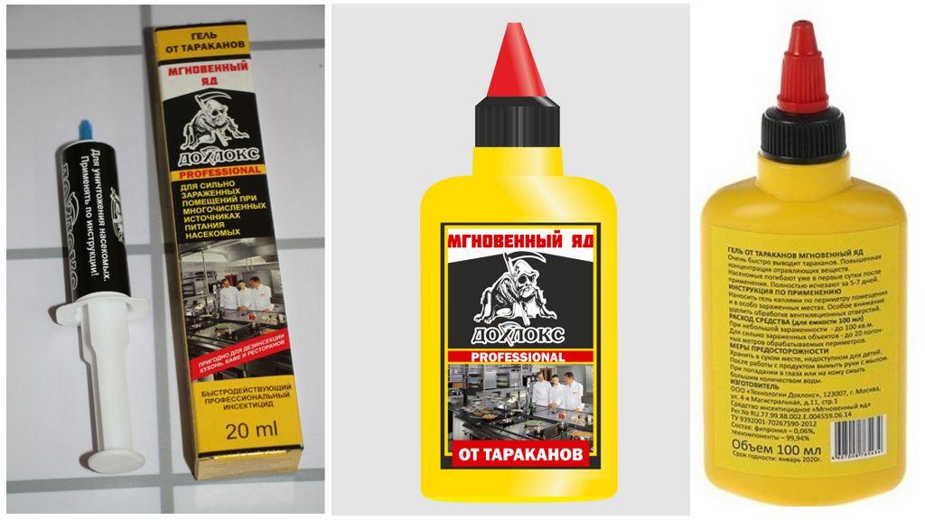 Гель дохлокс от тараканов в шприце: инструкция и отзывы о применении, цена, где купить средство?