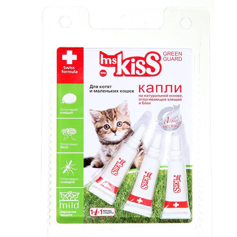 Обзор капель от блох для кошек и котят: эффективность и инструкция по применению