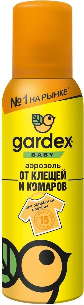Купить гардекс baby, 80 мл аэрозоль от комаров и мошки
