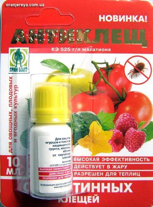 Препараты от клещей: акарицидные
