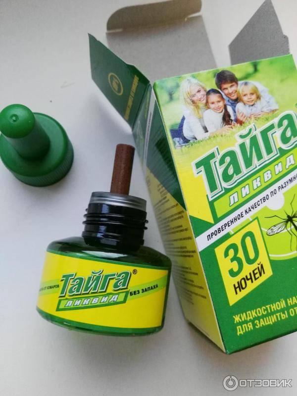 Средство от комаров тайга: какой продукт выбрать