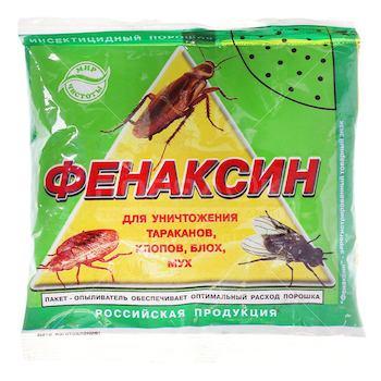 Фенаксин от тараканов и клопов: описание, инструкция по применению средства, отзывы