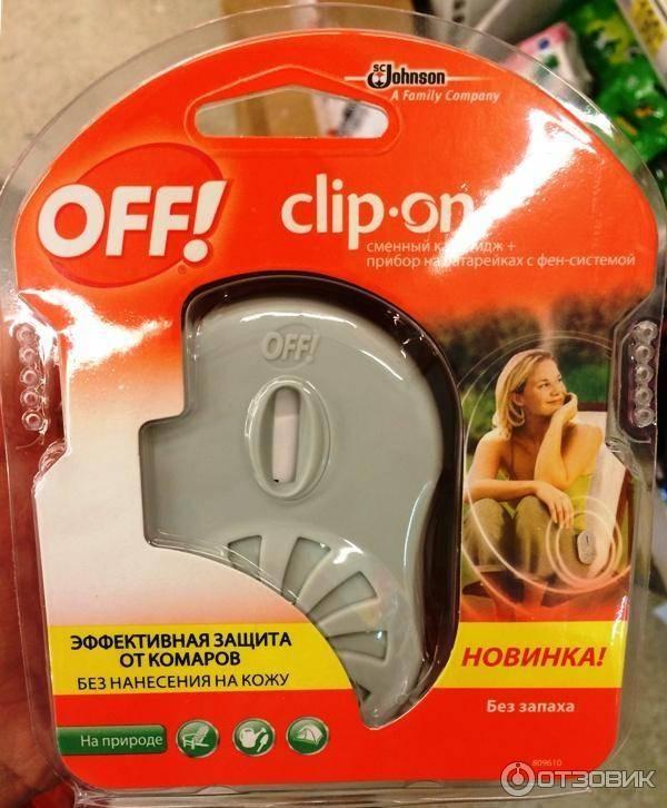 Средство off clip-on от комаров – отзывы и обзор - сад и дача