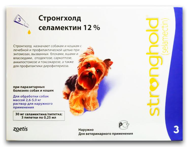 Стронгхолд от клещей для собак и кошек: инструкция по применению и отзывы