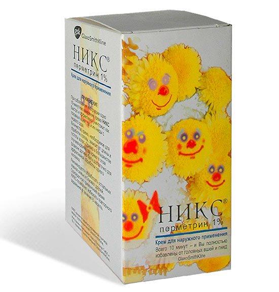 Никс – эффективный шампунь и крем от вшей, способ использования!