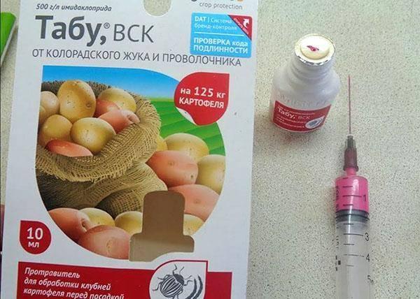 Табу от колорадского жука - вред для человека? русский фермер