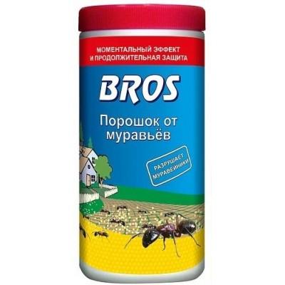 Средство от муравьев bros - преимущества, показания к использованию, меры предосторожности, способы применения