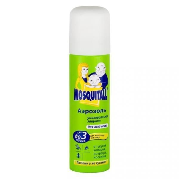 Купить москитол, 100 мл спрей от комаров, мокрецов, москитов