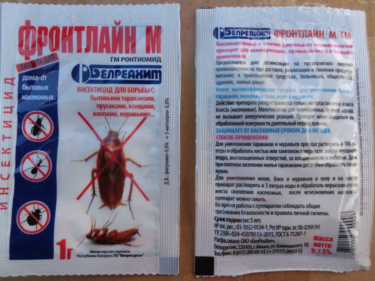 """Отрава """"регент"""" от тараканов (25, 800): порошок, ампулы, инструкция по применению"""
