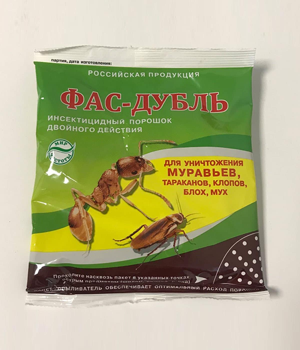 Порошки от тараканов — обзор средств, правила использования