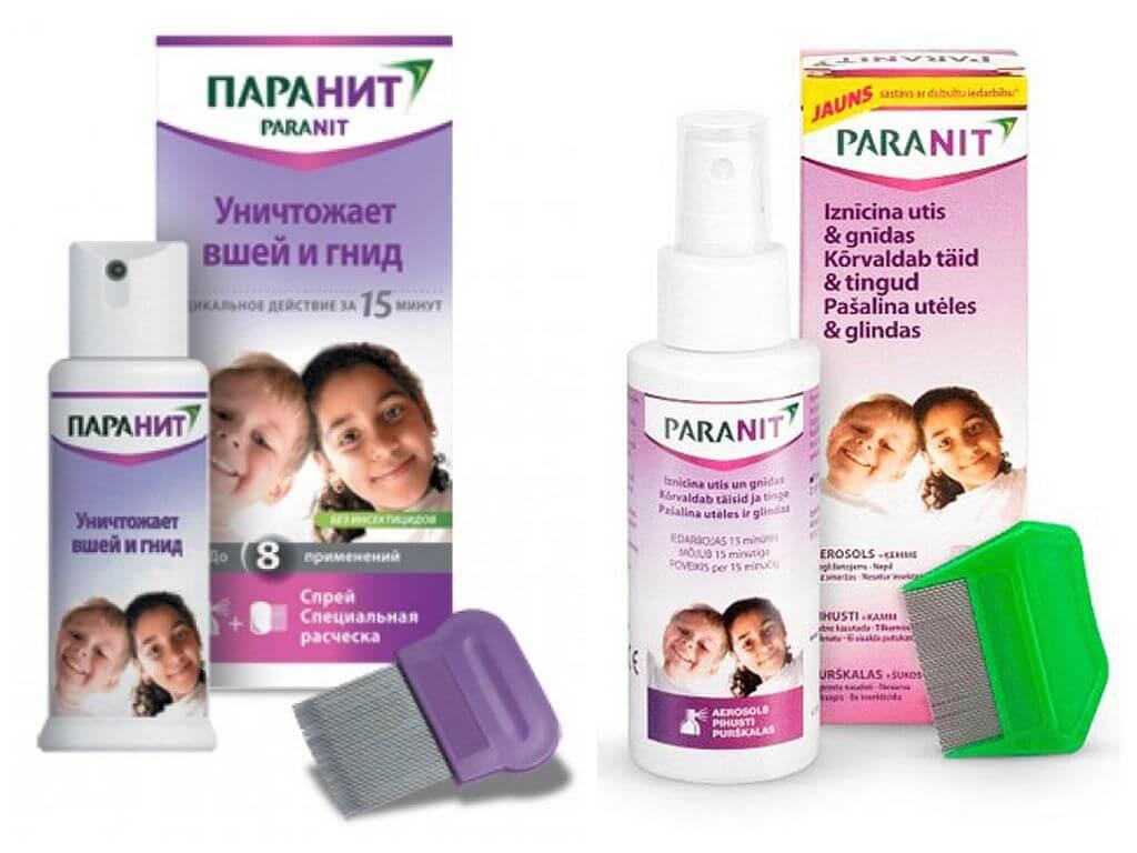 Репеллент паранит – защита от вшей и гнид, отзывы и инструкция
