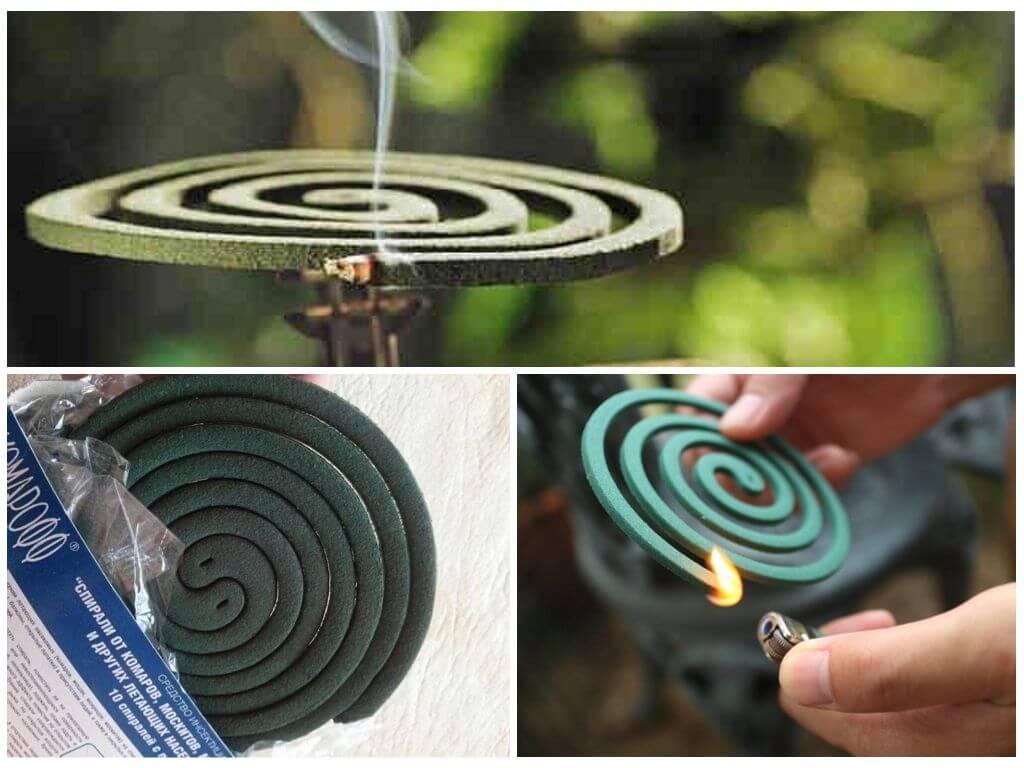 Спираль от комаров: принцип работы, инструкция по применению