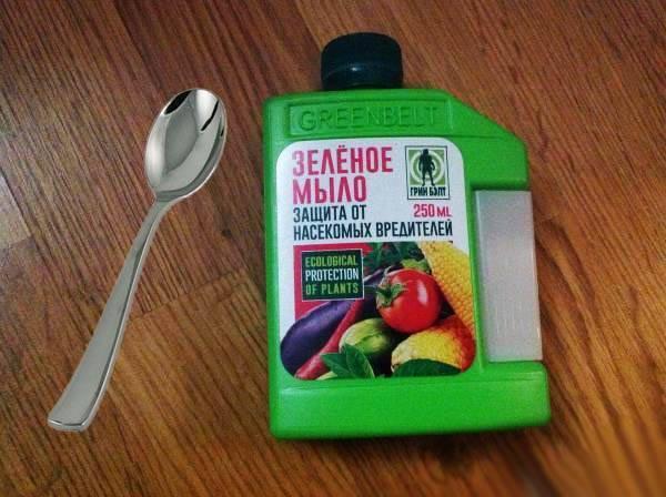 Зеленое мыло - инсектицид от вредителей, инструкция по применению
