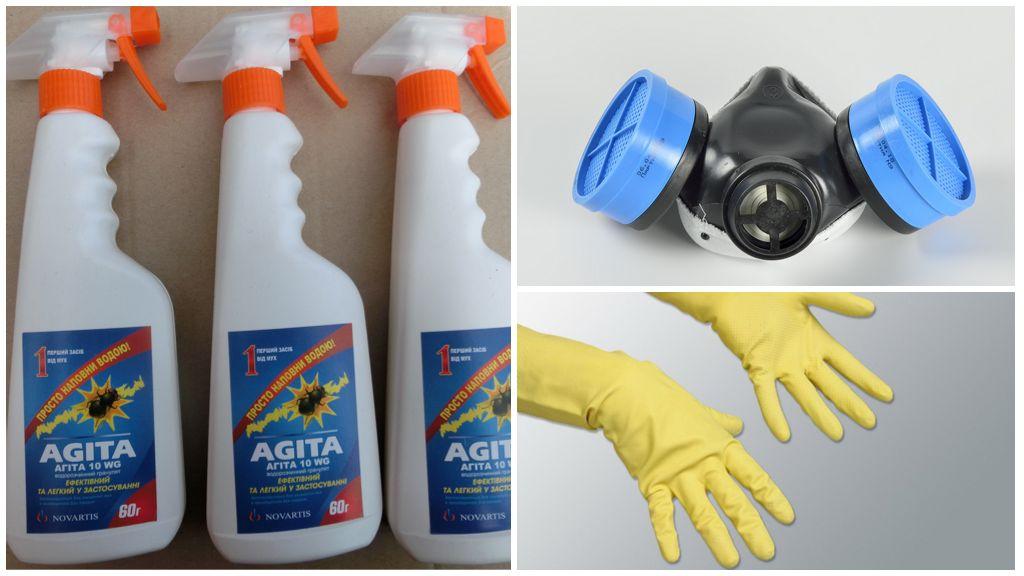 Агита от мух — инструкция по применению, как разводить средство, эффективность, отзывы